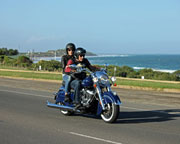 Harley Ride On The Great Ocean Road, 75 Minute Memorial Arch Tour - Melbourne Region