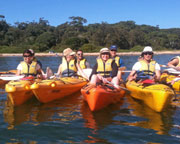 Half Day Double Kayak Hire, 4hr - Bundeena, Sydney
