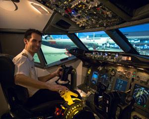 4k ultra hd flight simulator 60 minutes penrith sydney. Black Bedroom Furniture Sets. Home Design Ideas