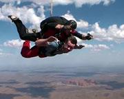Skydiving Over Ayers Rock Uluru
