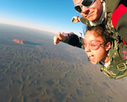 Skydiving Over Ayers Rock Uluru at Sunrise
