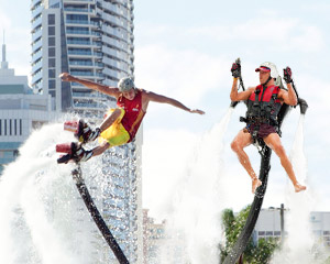 Jet Pack OR Board Flight, In-Water Training PLUS 10 Minute Flight - Champion Lakes, Perth