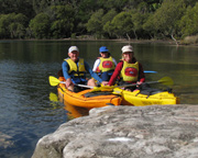 Single Kayak Hire, 2hr - Bundeena, Sydney