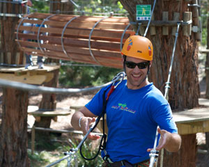 Tree Surfing, Tree Top Adventure plus Enchanted Maze Entry - Mornington Peninsula, Melbourne