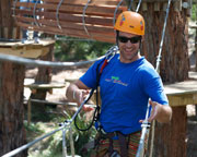 Grand Tree Surfing Adventure plus Enchanted Adventure Garden Entry - Mornington Peninsula, Melbourne