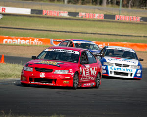 V8 Race Car 9 Lap Drive & 3 Lap Ride - Queensland Raceway