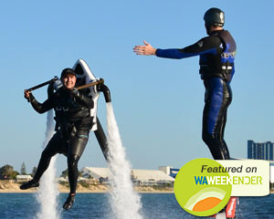 Jet Pack AND Flyboard Experience, 30 Minutes - Rockingham, Perth DOUBLE FLIGHT SPECIAL