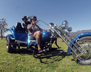 Trike Ride for 2, Hunter Valley Sunset Trike Tour with Cheese and Wine