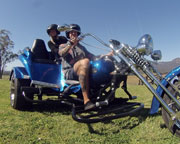 Trike Ride for Two, Hunter Valley Sunset Trike Tour with Cheese and Wine
