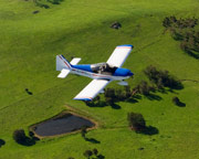 Aerobatic Flying Lesson, Robin 2160, 45-minute CHRISTMAS SPECIAL OFFER