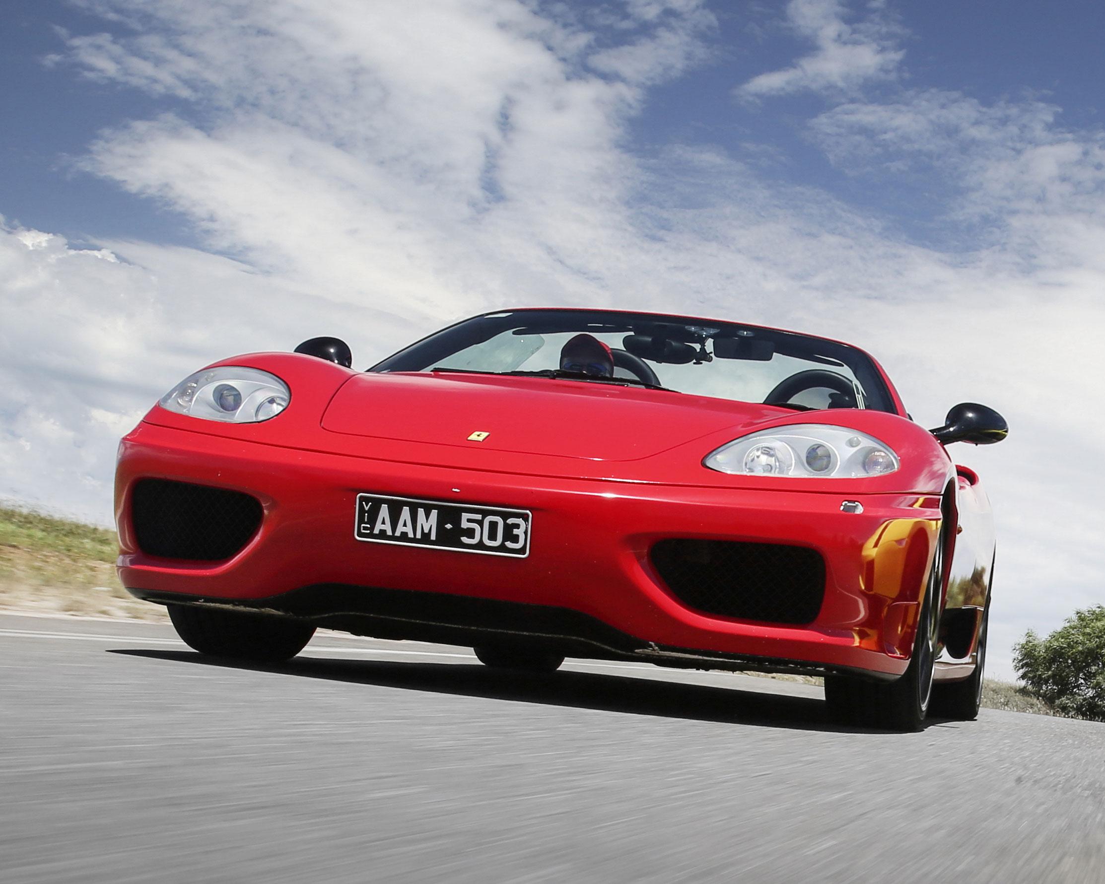 Ferrari Ride Plus Photo - Yarra Valley