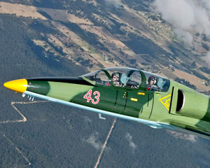 Jet Fighter Flight, 25 Minute L39 Hot Shot Mission - Port Macquarie
