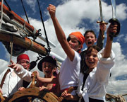 Sailing, Tall Ship, Attack of the Pirates Plus Luna Park All Day Unlimited Rides Pass - Sydney