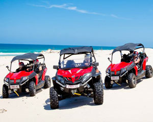 Quad Bikes, Stradbroke Island Dune Buggy Adventure for 2, Half Day - Gold Coast