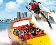 Jet Boat Ride and Jet Pack Combo - Central Surfers Paradise, Gold Coast