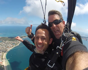 Skydiving Over The Beach Rockingham Perth - Weekday Tandem Skydive 10,000ft
