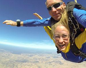 Skydiving Perth York - Weekday Tandem Skydive 8,000ft