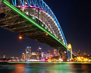 Vivid Sydney Sightseeing Cruise, 40 minutes - Circular Quay