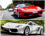 Ferrari Or Lamborghini Supercar Drive, 20 minutes - Sydney