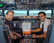 Boeing 737 Flight Simulator Melbourne CBD - 30 Minute Scenic Flight SPECIAL OFFER 2-FOR-1