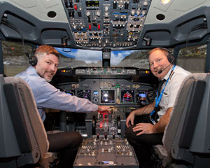 Boeing 737 Flight Simulator Melbourne CBD - 60 Minute City Flyer WEEKDAY SPECIAL OFFER