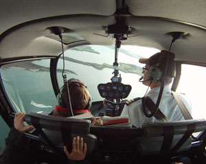 Helicopter Flight to Bass Estate Winery for 2 - Phillip Island