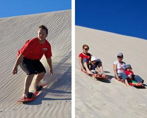 Sandboarding or Tobogganing 2 Hour Hire - Kangaroo Island