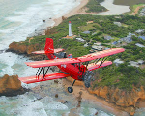 Great Ocean Road Biplane Flight For Two, Bells Beach 20 Minutes - Barwon Heads, Melbourne