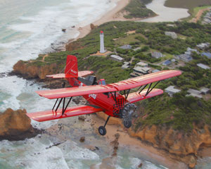 Great Ocean Road Biplane Flight For Two, Grand Tour 30 Minutes - Barwon Heads, Melbourne