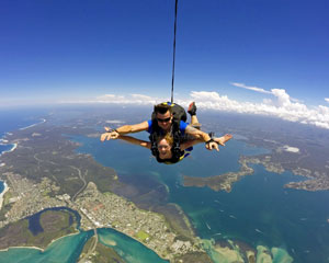 Skydiving Over The Beach Newcastle - Weekday Tandem Skydive Up To 14,000ft