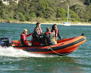 Try Powerboating - Spit Bridge Sydney