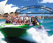 Jet Boat Ride, 30 Minutes, Circular Quay - Sydney SPECIAL OFFER 2-FOR-1