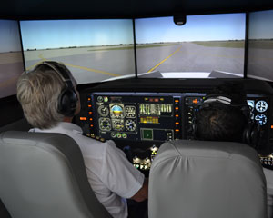 Corporate Jet Flight Simulator with Realistic Motion, 60 Minutes - Melbourne