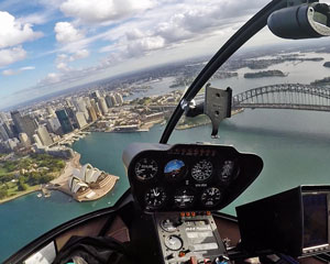 Helicopter Flight Sydney Harbour - 15 min Taster