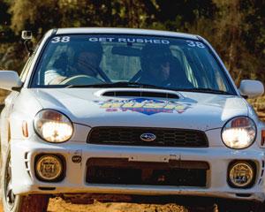 Subaru WRX Rally Driving, 12 Lap Rush - Ballarat