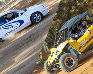 V8 Off Road Race Buggies & WRX Rally 16 Lap Drive AND 2 Hot Laps - Barmera (Adelaide Region)