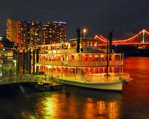 City Lights Dinner Cruise - Brisbane
