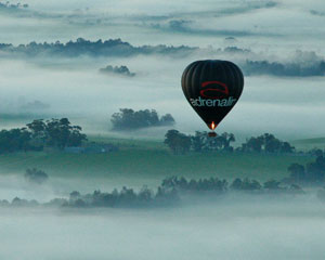 Hot Air Balloon Sydney, Weekday Flight INCLUDES FULL GOURMET BREAKFAST