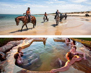 Horse Riding, St Andrew's Beach Horse Ride & Hot Springs Experience, 2 Hours - Mornington Peninsula, Melbourne