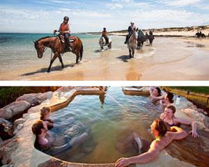 Horse Riding, 2 Hour Beach Ride & Hot Springs Spa Experience - Mornington Peninsula, Melbourne