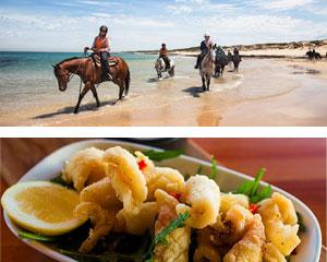 Horse Riding, 2 Hour Beach Ride & Dine Experience - Mornington Peninsula, Melbourne
