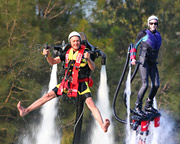 Jet Pack OR Board Flight, 15 minutes - Central Coast SPECIAL OFFER 2-FOR-1