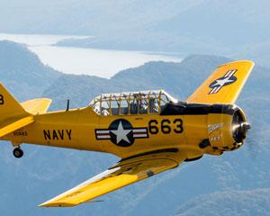 WW2 T6 Texan Burragorang Valley 35 Minute Adventure Flight - Camden Airport Sydney