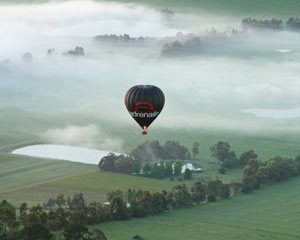 Hot Air Balloon Yarra Valley WEEKDAY SPECIAL OFFER! (includes Full Gourmet Breakfast)