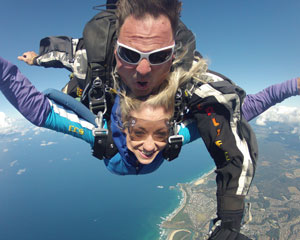 Skydiving Coffs Harbour - Tandem Skydive, 12,000ft