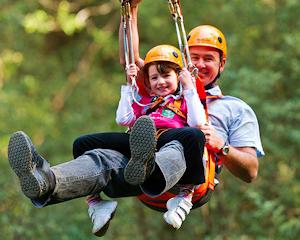 Otway Fly Treetop Adventure, Zip Line Tour - Otways FAMILY TICKET