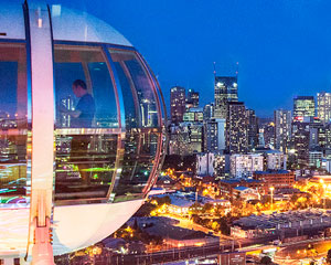 Melbourne Star Observation Wheel Admission SPECIAL OFFER 2-FOR-1