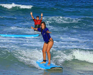 Surfing Lesson, 2 hours PLUS Free Photo Package - Gold Coast