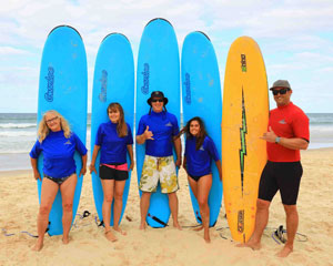Full Day Surfing Lesson Package - Gold Coast
