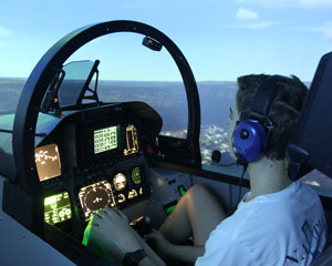 F/A-18 Jet Fighter Simulator, 60 Minutes - Sydney